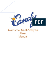 Elemental Cost Analysis User Manual