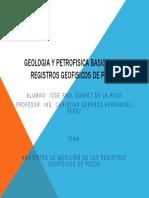 Geologia y Petrofisica Basica Para Registros Geofisicos De