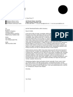 Cover Letter - Sawyer A4