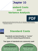 Chapter 10 - Standard Costs and Variance Analysis (2017)