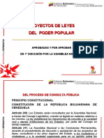 Leyes Poder Popular Julio 2010 Venezuela