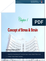 1-Concept of Stress and Strain [Sept 2012]