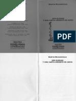Micharvegas, Martin - Dos Elegias y Una Carta