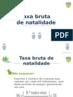 Taxa Bruta Natalidade (2)