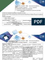 Guía de Actividades y Rúbrica de Evaluación-Fase 2- Componente Práctico Presencial Del Curso de Física General