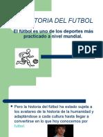 La Historia Del Futbol