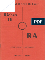 The Riches of Ra by Michael Leppier