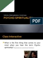 Psycho-Spirituality Global Setting