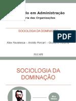 Sociologia Da Dominação - Vesão Final