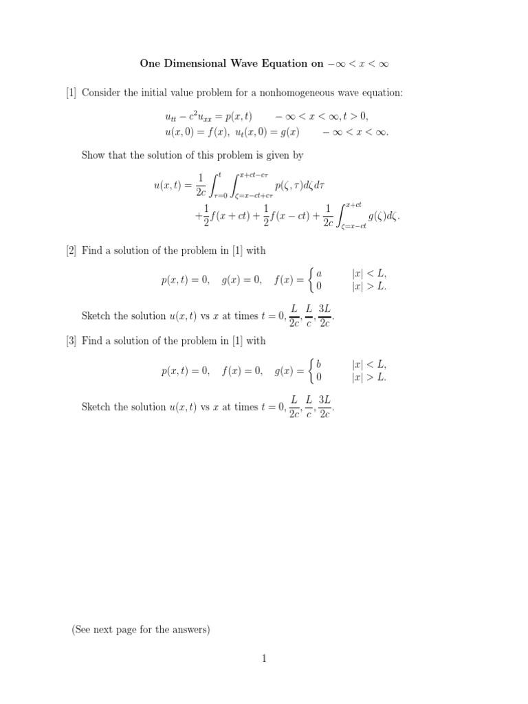 3 6_hw | Wave Equation | Logical Truth