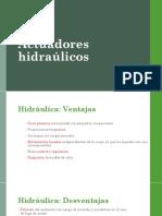 Actuadores hidraúlicos