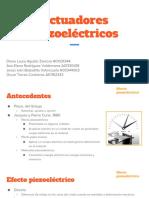 Actuadores piezoeléctricos