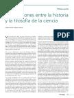 Boido, Guillermo; Lombardi, Olimpia - Las Relaciones Entre La Historia y La Filosofía de La Ciencia