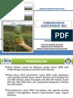 Pembangunan Usahawan Nanas Md2 (Lpnm - Tn.hj. Mahmud Bin Kasim)