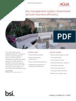 BSI ISO 9001 Case Study Agua Fabrics UK En
