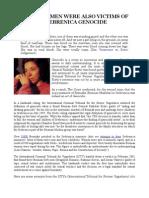 Rapes of Bosniak Women & Girls in the Srebrenica Genocide