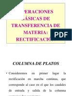 Columnas de Platos Ope