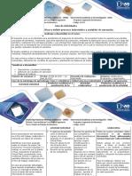 Guía de Actividades y Rúbrica de Evaluación Unidad1 Ingeniería de Procesos