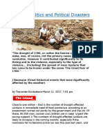 Disaster Politics and Political Disasters.docx