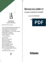 Metodología Jurpisica-II-los Saberes y Las Prácticas de Los Abogados