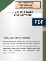 Analisis Data Kuantitatif
