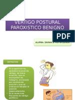 Vertigo Postural Paroxistico Benigno