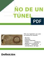 Diseño de Un Túnel