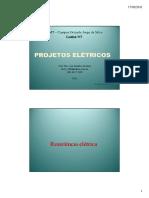 4 EB Resistência Elétrica Ppt