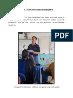 Loporan Lawatan Sambil Belajar Ke Taiping Perak
