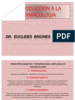 Introduccion a La Farmacologia y Farmacovigilancia