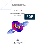 CAD package for electromagnetic and thermal analysis using finite elements