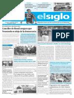 Edición Impresa El Siglo 12-03-2017