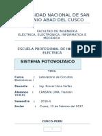 Lab.8 Sistema Fotovoltaico