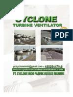 Brosur Cyclone Ventilator