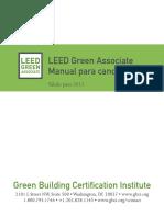 Leed Green Associate Manual Para Candidatos