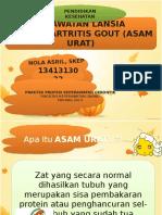 Lembar Balik Artritis Gout Colour