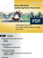 Ansys Electric Machines and Power Electronics