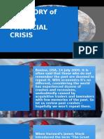 A History of World Financial Crisis 1