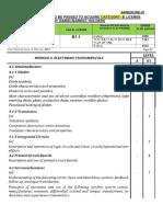 Dgca Module Syllabus for BAMEL HOLDER