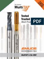 Emuge MultiTAP Brochure 2014