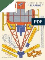 Vintage Paper Helicopter