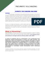 Automatic Pneumatic Vulcanizing Machine