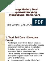 2. Teori Pendukung Homecare