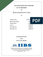 Business Familiarization Report Kgs (1)