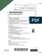 GCSE Mathematics 1H