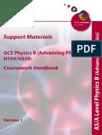 68748 Coursework Handbook