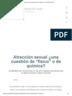 """Atracción Sexual ¿Una Cuestión de """"Físico"""" o de Química_ _ Otras Maneras de Vivir"""
