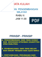 Kebijakan Pengembangan Wilayah Pak Rito
