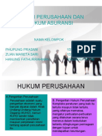 Hukum Perusahaan Dan Hukum Asuransi, Kelompok 7, Kelas Cf Akuntansi