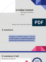 BGS_Sec E_Group 7_E-Tail in India Context